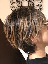 ヘアーズ クルー ニュース(Hair's crew NEWS)遊び心満載のプレミアムショートスタイル。