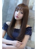 【MUSE】大人女子のモテ髪ナチュラルストレートロング