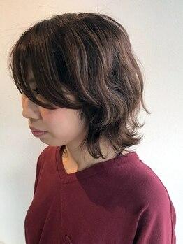 ラテール ヘアー(la terre hair)の写真/[駐車場完備]トレンドと個性をMIXして似合わせスタイルに。色持ちも良く、染める度、綺麗に♪白髪染めも◎