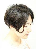 デコヘアー(DECO HAIR)クールな濡れ髪ショート