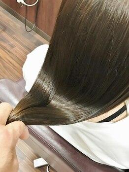 エムスヘアーショップ(M's)の写真/M3Dで憧れの天使の輪♪貴女の髪が生まれたての様な輝きに!M3Dカラートリートメント+ヘッドスパ¥14040☆