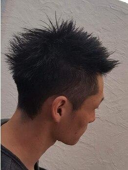 スー ヘアー(SUU HAIR)の写真/【MEN'Sカット¥2500】第一印象が決まるCut!ON/OFFでも簡単にカッコ良くきまる優秀ヘア!