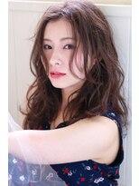 イロドリ ヘアーデザイン(IRODORI hair design)IRODORI センターパート×大人セミロング 2【西尾一寛】