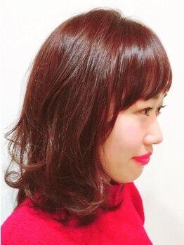 MOZ美容室 レヴェ 日永店(reeve)の写真/【日永】ストレートやパーマでごまかさず、お客様の個性にあったオーダーメイドカットで更に魅力アップ☆