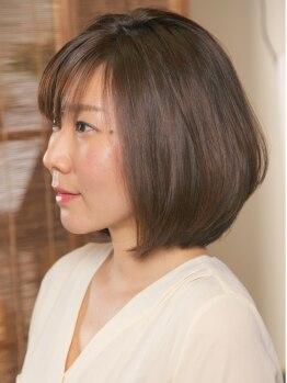 庵樹の写真/髪に優しい【フルボ酸ヘナカラー】オーガニック【ヴィラロドラアロマカラー】導入!本物志向の大人女性へ…