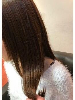 アンテナヘアー(Antenna hair)の写真/【CMで話題の】TOKIOトリートメントがロングアップなしで3,240円★抜群のツヤ感×持続性♪