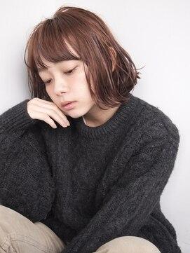 ナヌーク(nanuk)【nanuk*UEKI】ケアブリーチ*ピンクベージュ