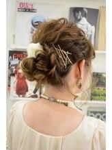 ベルフェミンクレイル(Belle femin CLAIRE)ふわふわまとめ髪★masami style