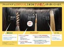 ビーヘアー(BE hair)の雰囲気(三重県南部地域、唯一のプルエクステ取り扱いサロン☆)