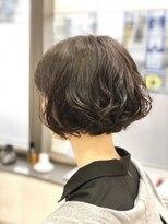 ヘアーメイクチャム(hair&make CHUM)ゆるパーマボブ