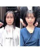 シェルハ(XELHA)大好評☆仲道のIGTV☆リアルお客様【before→after】黒髪ボブ