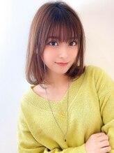アグ ヘアー ショコラ梅田2号店(Agu hair chocolat)《Agu hair》色っぽストレートミディ