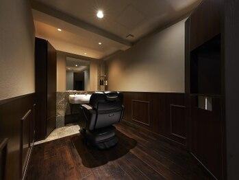 ネクサス グラン 広尾店の写真/【全室完全個室】もはや理容室ではない、高級感。技術・空間どちらも妥協したくない方に。[広尾]<理容室>