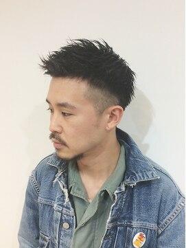 GOOD DAY HAIR】《yu☆ya》トップを残したツーブロック 下北沢