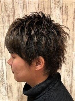 エルザ ヘア(ERUZA HAIR)の写真/おしゃれメンズ必見☆ON/OFF切り替えのできるスタイリングもお任せ!さわやかで清潔感のあるヘアに◎