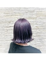ビス リアン 川口店(Vis lien)ハイライトカラー/センターパート/前髪カタログ/ケアブリーチ/