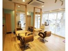 ヘアーサロン エフ(hair salon ef)の雰囲気(店内写真。やすらぎのひとときをご提供します。)
