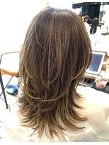 アフロート ルヴア 新宿(AFLOAT RUVUA)RUVUA『動きハイレイヤー』×『白髪染めも明るくハイライト』