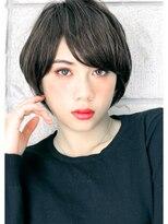ヘアサロン ガリカ 表参道(hair salon Gallica)☆ ネイビーグレージュ× 毛束感 ☆ 外国人風short style