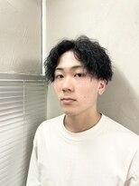 アブアイロス(LOSS)【stylist/shogo】縦落ちツイストスパイラル×somperm