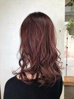 グランジュテ ヘアアンドスパ 新検見川(GRAND JETE Hair&Spa)透明感ピンク♪ [岩井麻由美]
