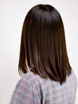 ノンヘアー(non hair)の写真/【東尾道駅より徒歩5分】Aujuaトリートメント取扱い◇思わず、ずっと触れていたい、うる艶ヘアを実現―。