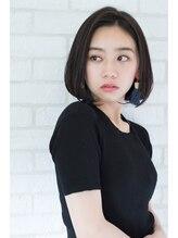 ヘアサロン ガリカ 表参道(hair salon Gallica)大人女性の前髪なしワンレンボブ