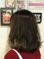 ルーナ ヘアラウンジ(Luuna hair lounge)外ハネボブ