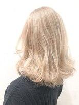 コード(KORD)【GUEST_STYLE 】017       white blond イルミナカラー