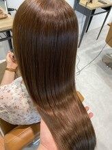 テラスヘア センダイ(TERRACE hair SENDAI)艶髪ミルクティーベージュ