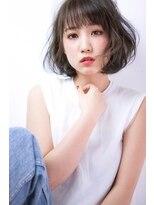 イーリオ(ilio)【ilio-hair atelier-】#耳かけ#切りっぱなしボブ#ワンカール