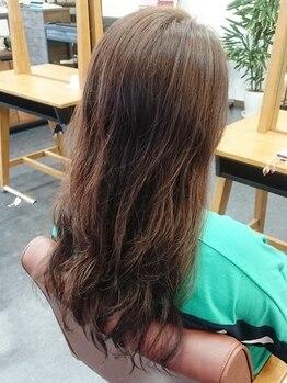 """サワーマッシュヘア(SOUR MASH HAIR)の写真/【毎朝のセットを大幅時短】""""スタイリングしやすい""""を第一に考え、骨格や髪質から導き出す似合わせパーマ♪"""