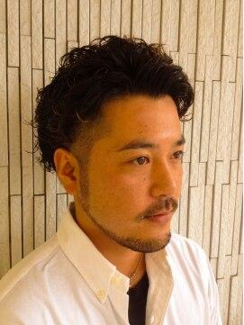 大賀 ヘアビューティ(Oga Hair beauty)ツーブロックハードパーマ
