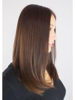 イーネ(e ne)の写真/ただストレートにするのではなく、自然に髪を扱いやすくする一人一人に合わせた【e-ne】のストレート★