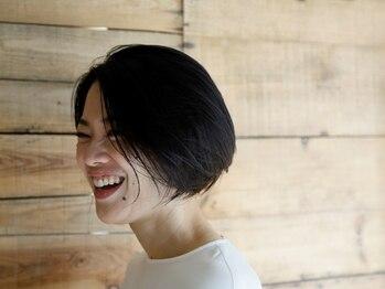 """コモン ヘア デザイン(COMMON hair design)の写真/独自のカット技法、自然なブローで簡単に再現でき、ヘアスタイルの""""モチ""""が良いと好評です。"""