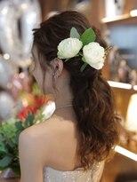 花嫁さんヘア