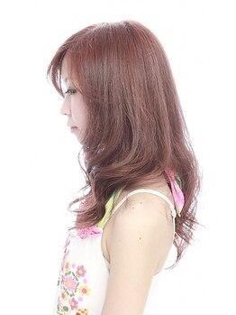 ヘアーワークスミスト 池袋店(Hair Works MIST)の写真/【カット+カラー(白髪染めも可)+G MILBON Tr】染める度、毛先までしなやかで、弾むような美髪に♪[池袋]