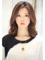 ダミアバイルル(DAMIA by LuLu)24★クセをいかしたふんわりストレート&外国人風カラー人気髪型