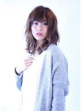 ヘアー アトリエ トゥルー(hair atelier true)☆ラフウェーブミディ☆