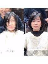 シェルハ(XELHA)大好評☆仲道のIGTV☆リアルお客様before→after黒髪ボブ前髪