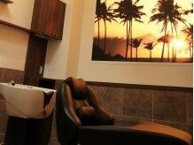 ベア 美容室(BEAR)の雰囲気(フルフラットのシャンプー台で、ついウトウト…♪)