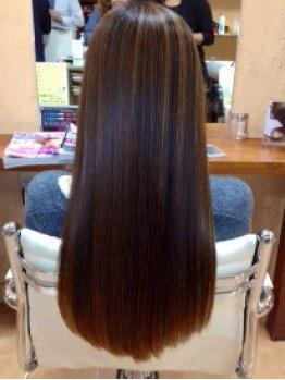 ヘアープランニング ゼロ(Hair Planning ZERO)の写真/【すべてのメニューが髪質改善ヘアエステ付♪】傷みや髪質に悩むことなくカラーやパーマを楽しめる◎