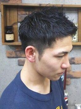 アールズ ヘア(R's hair)の写真/メンズサロンならではの刈り上げスタイルが人気!質感やシルエットにこだわったスタイルが手に入る♪