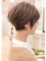 ガーデンヘアー(Garden hair)[松岡]丸みショート