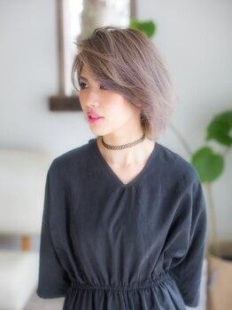 アルコ(Arco)の写真/大注目のカラーをお得に体験♪透き通った憧れの外国人風の髪が手に入ります☆美しい輝きのある仕上がりに♪