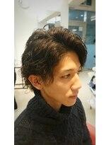 ヘアーリゾートラシックアールプラス(hair resort lachiq R+)《R+》メンズパーマ☆スパイラル