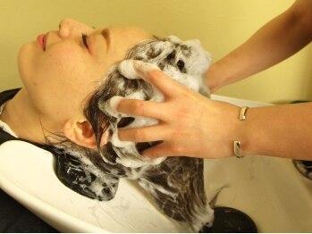 トリコ ヘアアンドケアスペース(trico hair&care space)の写真/ミントの香りの炭酸スパでリラックス&リフレッシュ☆ダメージケアには[生トリートメント]がおすすめ☆