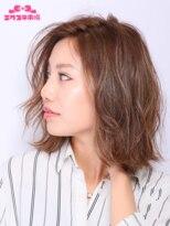 エクステ市場 渋谷本店 カラーランド【エクステ市場】切りっぱなしボブナチュラルヘア
