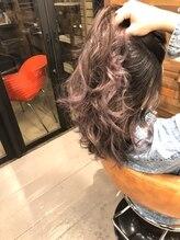 ヘアーサロン ミル(hair salon MiL)ラベンダーアッシュ×グラデーション