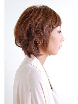 ヘアーワークスミスト 池袋店(Hair Works MIST)の写真/丁寧なカウンセリング×高いカット技術で仕上がりの完成度◎一人ひとり違う髪の質感、クセの違いを微調整☆